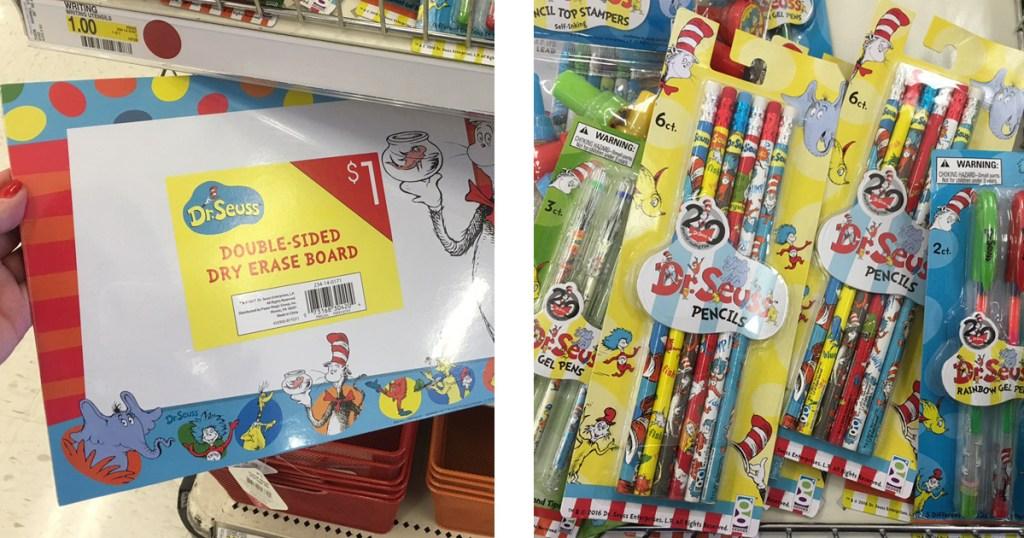Dr Seuss Board Pencils