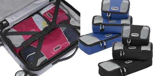 Traveling Soon? Score a Set of 3 eBags Slim Packing Cubes w/ Lifetime Warranty for Just $14.99 Shipped