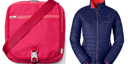 Eddie Bauer: Extra 40% Off Clearance = Tech Bag Only $10.79 (Regularly $30) + More