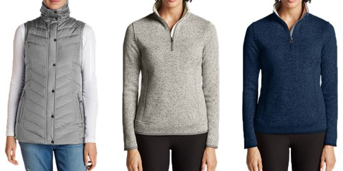 EddieBauer.com: Extra 40% Off Purchase = Hot Deals On Men's And Women's Jackets And Vests
