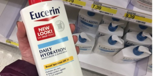 New $2/1 Eucerin Lotion or Creme Coupon = Large Bottles Only $3.54 at Target + CVS Deal