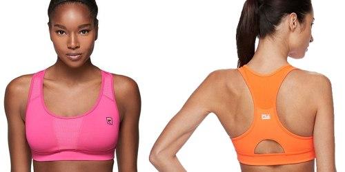 Kohl's.com: Fila Sports Bras Only $14.07 (Regularly $30)