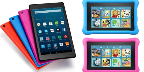 Amazon: BIG Savings on Select Fire Tablets = Fire HD 8 Only $69.99 Shipped (Reg. $89.99) + More