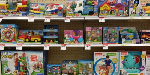 Target: Buy 1 Get 1 FREE Fisher-Price Toys = Little People Mini Cars Only $2.54 +  MORE