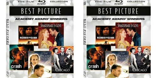 Amazon: Best Picture Academy Award Winners Five-Film Blu-ray Collection Only $11.99