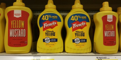 Target: French's Yellow Mustard Just 99¢ Each + Spicy Brown Deli Mustard Only 87¢