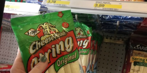 New $0.50/1 Frigo Cheese Coupon = String Cheese 12 Pack Only $2.34 At Target