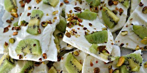 Easy Frozen Yogurt Bark Recipe