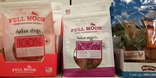 Target: 50% Off Full Moon Natural Dog Treats