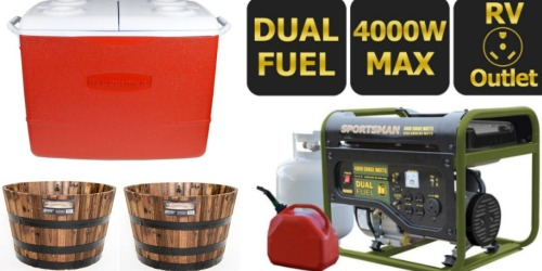 The Home Depot: Rubbermaid 50-Quart Insulated Cooler Only $14.97 + More Deals