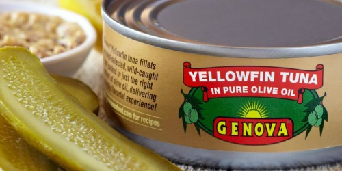 Amazon: 24 Highly Rated Genova Yellowfin Tuna in Olive Oil 5oz Cans $1.36 Each Shipped