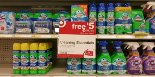 Target: Save BIG on Scrubbing Bubbles, Clorox, Pine Sol, Mr. Clean & More