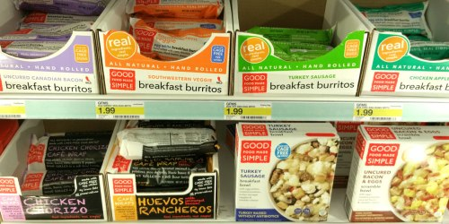 Target: Good Food Made Simple Burritos Only 49¢ (No Coupons Required) + More