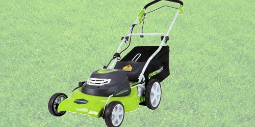 Target.com: GreenWorks Electric 20″ Lawn Mower Only $107.19 w/ In-Store Pickup