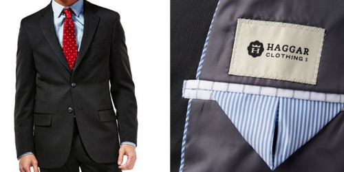 Kohl's Cardholders: Men's Haggar Tailored-Fit Suit Jackets Only $35 Shipped (Regularly $135)