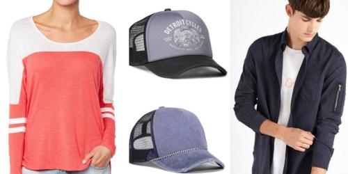 Cotton On: $5 Men's Trucker Hats, $5 Women's Tops + More Clearance Deals