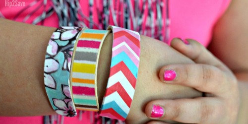 Craft Stick Bracelets (Fun Kids Craft Idea)
