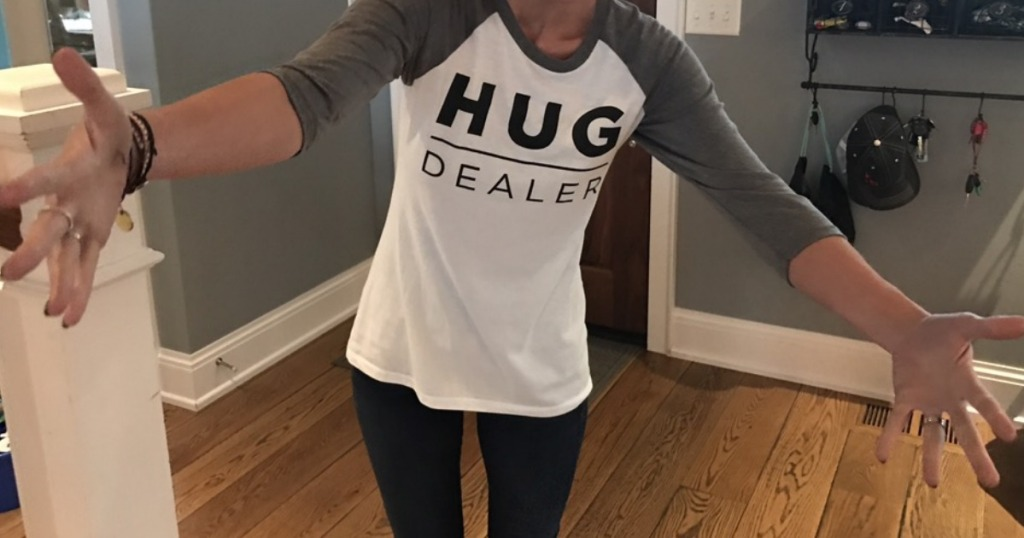 Hug Dealer Tee
