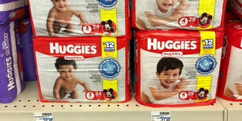 Don't Miss This $3/1 Huggies Diapers Coupon! Jumbo Packs Just $3.66 Each at CVS + More