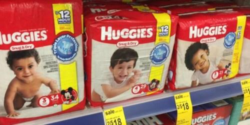 Walgreens: Huggies Jumbo Pack Diapers Only $4 Per Pack (Starting 3/26)