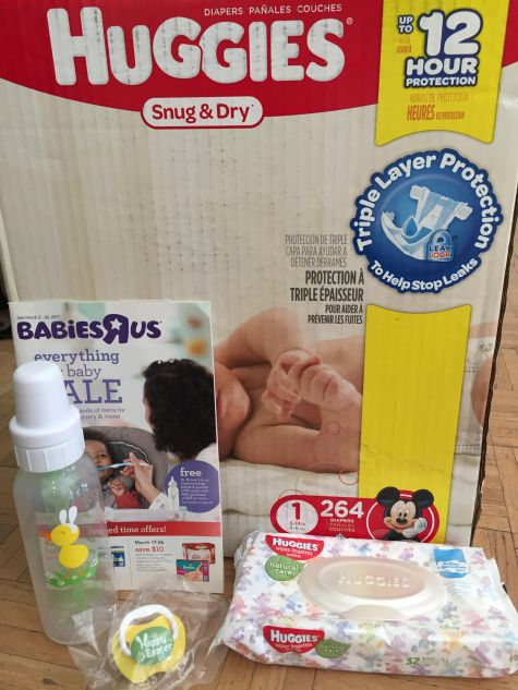 Babiesrus Huggies Diapers Value Pack Wipes Bottle And