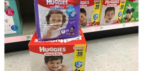 *NEW* $3/1 Huggies Diapers Coupon = Jumbo Packs ONLY $3 at Walgreens and $3.66 at CVS