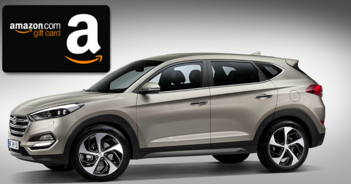Free $50 Amazon, Target or Visa Gift Card When You Test Drive Hyundai (Select Areas Only)