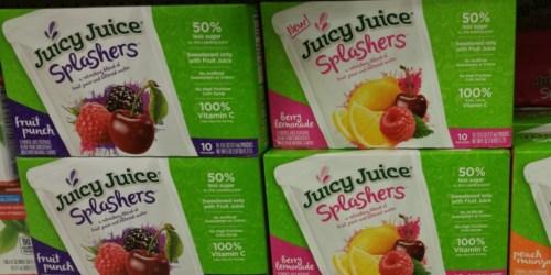 New $1/1 Juicy Juice Splashers Pouches Coupon