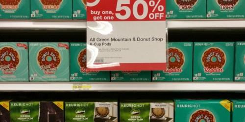 Target: Select K-Cups Buy 1 Get 1 50% Off (Both In-Store & Online)