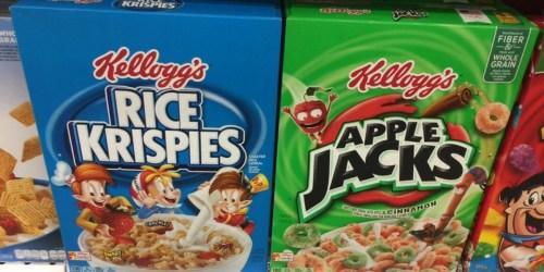 *NEW* Kellogg's Cereal Coupons = Rice Krispies Only $1.38 Per Box at Walgreens