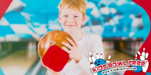Score 2 FREE Bowling Games Per Child ALL Summer Long (Registration Starts Now for Some Locations)