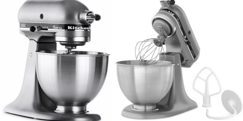 4.5-Quart KitchenAid Mixer Only $202.38 Shipped (Regularly $349.99) + Earn $40 In Macy's Money