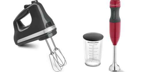 Kohl's Cardholders: KitchenAid 5-Speed Hand Mixer or Hand Blender Only $27.99 Each Shipped (Regularly $59.99)