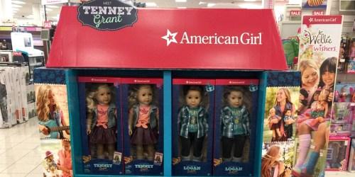 Kohl's: American Girl Dolls Tenney Grant or Logan Everett Just $115 + Earn $20 Kohl's Cash (In-Store)
