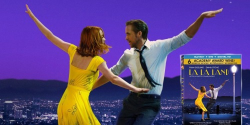 La La Land on Blu-ray + DVD + Digital HD Combo ONLY $6 Shipped (Regularly $13+)