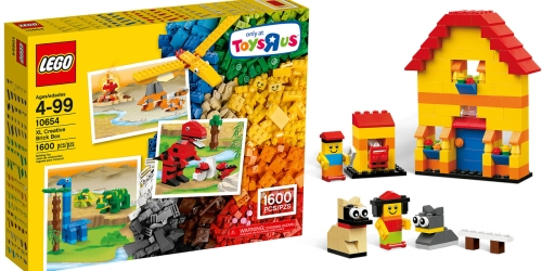 ToysRUs: LEGO Classic XL Creative Brick Box Only $50.99 Shipped (Contains 1,600 Pieces!)
