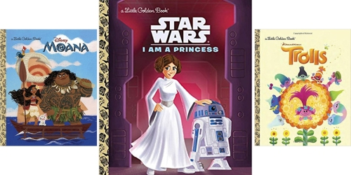 Amazon: Little Golden Books As Low As $2.06 – Moana, Star Wars & More