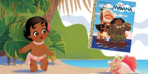 Amazon: Moana Hardcover Little Golden Book Only $2.10 (Great For Easter Baskets)