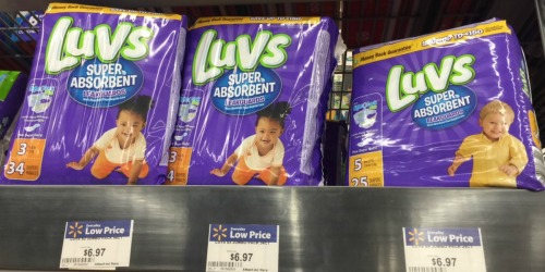 New $2/1 Luvs Diapers Coupon = Great Deals at Target and Walmart