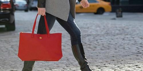Macy's.com: Joy Mangano Christie Leather Tote Just $28.79 (Regularly $120) + More