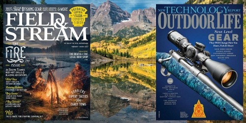 Free 1-Year Subscriptions to Field & Stream AND Outdoor Life Magazines