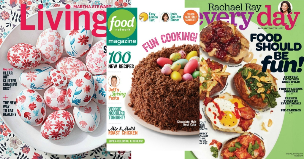 In Addition To This 5 HGTV Magazine Deal Hop On Over Amazon Where You Can Snag A ONE Year Subscription Martha Stewart Living For Only