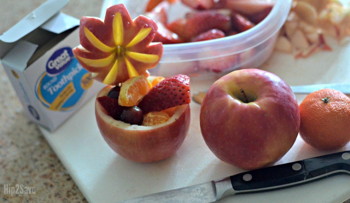 recipe for apple fruit bowl