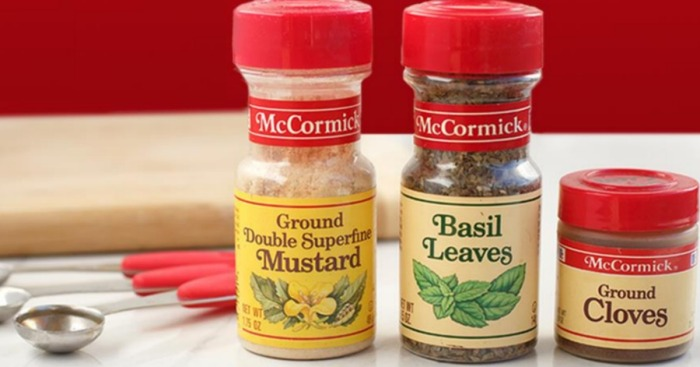 New $3.25/5 McCormick or McCormick Gourmet Spices Coupon = Nice Deals at Walmart