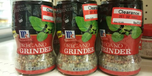 Target: McCormick Spices As Low As 84¢ Each