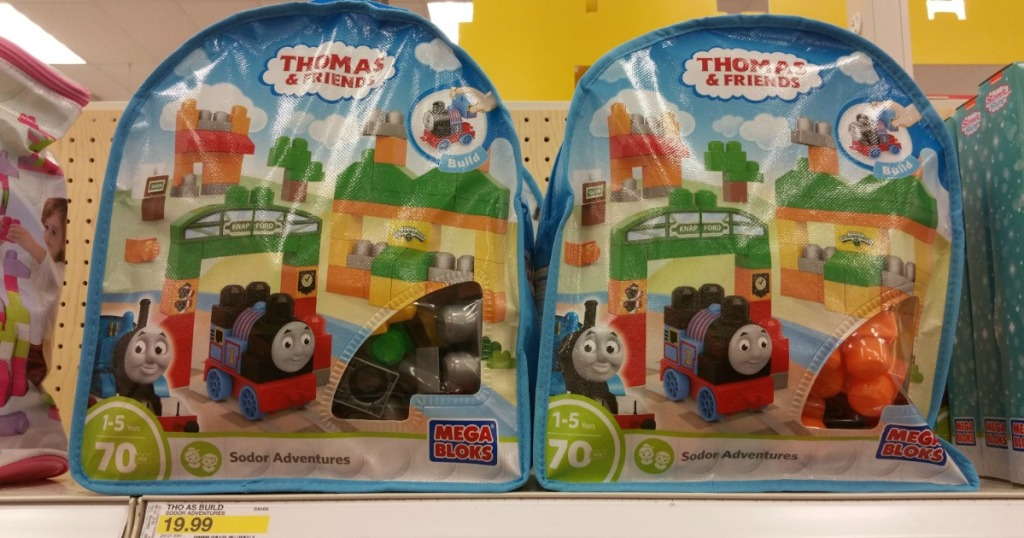 Mega Bloks Thomas Friends Sodor Adventures Set