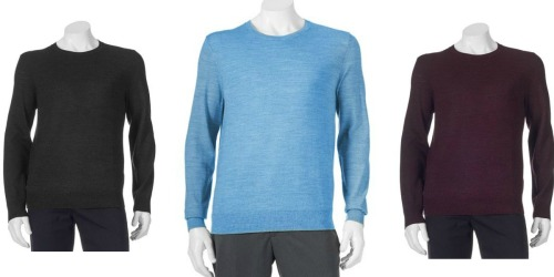 Kohl's Cardholders: 5 Men's Sweaters Only $6.36 Each Shipped (Regularly $55 Each)