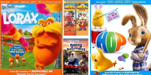 Best Buy: Save BIG on Select Movies – Thomas & Friends, Dr. Seuss, Lorax and Much More!