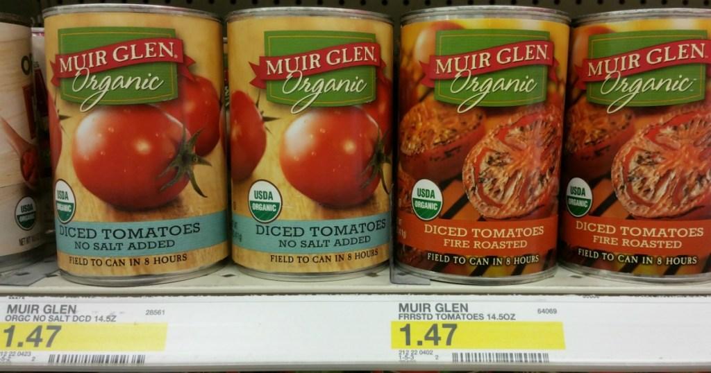 Muir Glen Diced Tomatoes