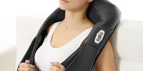 Amazon: Heated Shoulder Massager Only $36.99 Shipped (Use on Back, Neck & Shoulders)